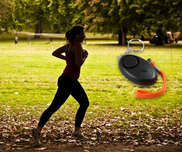 personal alarm for runners